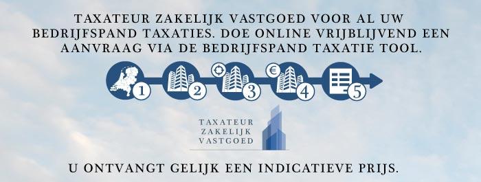 Bedrijfspand taxatie bij Taxateur Zakelijk Vastgoed